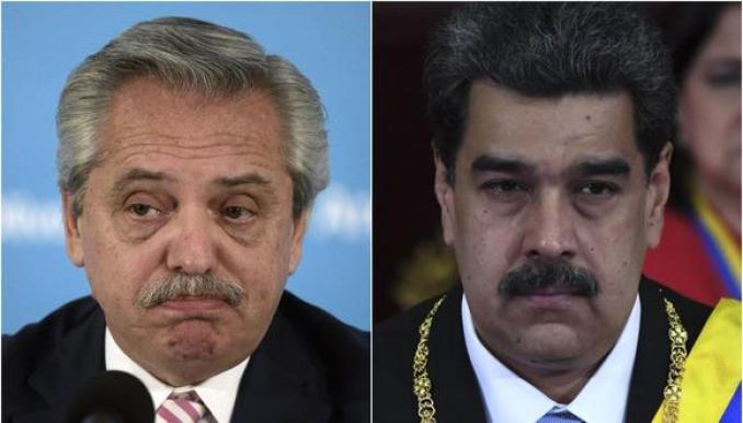 Ante la detención de opositores en Venezuela el Gobierno de Alberto Fernández condenó los bloqueos al chavismo