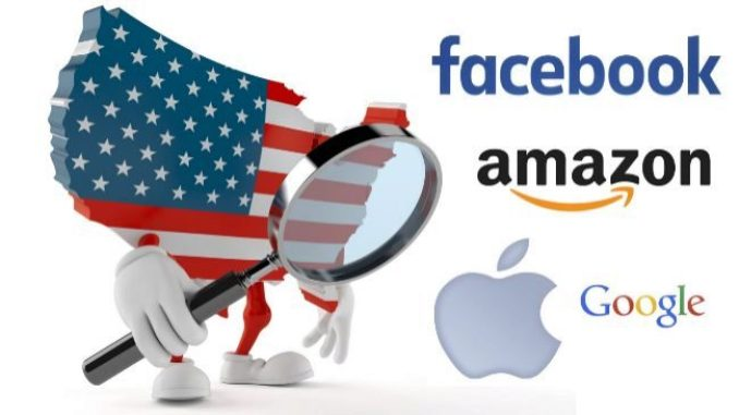 EEUU y la UE unen fuerzas para controlar el avance de Google, Apple, Facebook y Amazon