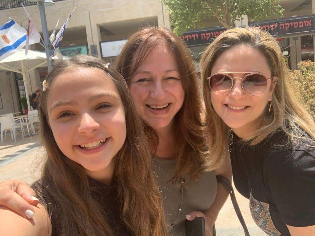 Con Yael Danon y su mamá Tzvia
