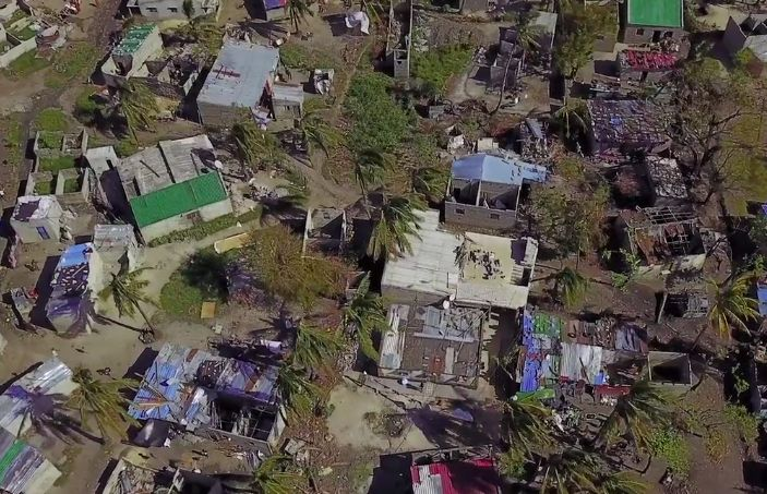 Mozambique, la destrucción