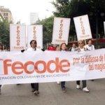 Se calienta paro del magisterio: 20 de marzo en toda Colombia