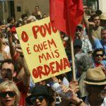 Huelga general paralizó a Portugal