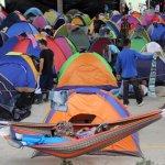 Caravana humanitaria de solidaridad y comisión de verificación con el campamento de Barbosa (Antioquia)