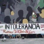 Aída Avella rechazó vandalismo neonazi en Bogotá
