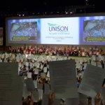 Solidaridad con Húbert Ballesteros en Gran Bretaña