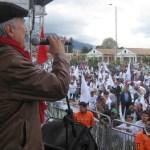 """""""Paz es justicia social"""""""