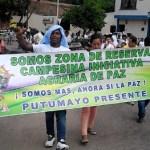Policía fumiga Zona de Reserva Campesina Perla Amazónica