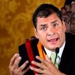 Presidente Correa denuncia manipulación de oposición venezolana