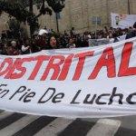 Estudiante en coma por brutalidad policial en Bogotá