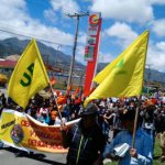 Protesta en Usme y Ciudad Bolívar