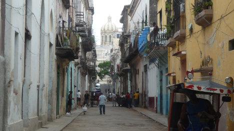 Paisaje urbano de La Habana.