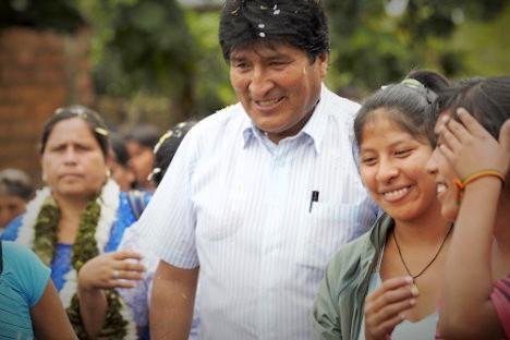 Durante su gestión en el gobierno, Evo Morales ha encarado en varias ocasiones la labor intervencionista de la DEA.