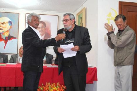 El poeta José Luis Díaz-Granados.