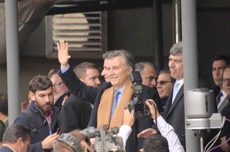 El presidente de Argentina, Mauricio Macri, en imagen del 30 de julio de 2016. Foto Xinhua