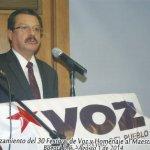 Director de VOZ, otra víctima