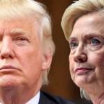La puja entre Trump y Hillary: No hay con quien