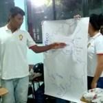 Pedagogía de paz en Colegio de la USO en Barrancabermeja