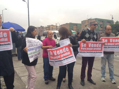 Bogotá reclama un sistema tributario verdaderamente equitativo.