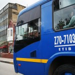 Bogotá. Los buses azules ruedan mal
