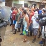 Policía agrede paro minero en Segovia (Antioquia)