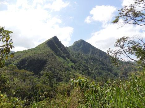 Montañas de San Francisco en la provincia de Gualivá (Cundinamarca). Foto archivo.
