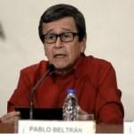 """Pablo Beltrán (ELN): """"La paz es un asunto de voluntad política"""""""