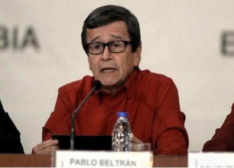 Pablo Beltrán, integrante del COCE del ELN.