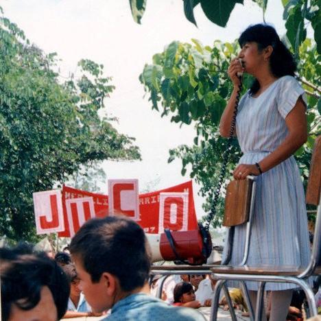 María Mercedes Méndez, alcaldesa de El Castillo, Meta. Foto Archivo.