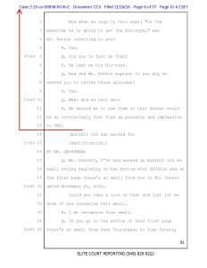 Plaintiffs Summary Judgment Motion, Exhibit C, Gossett Deposition, Page 8