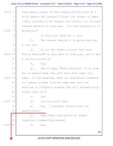 Plaintiffs Summary Judgment Motion, McIntosh deposition, page 3