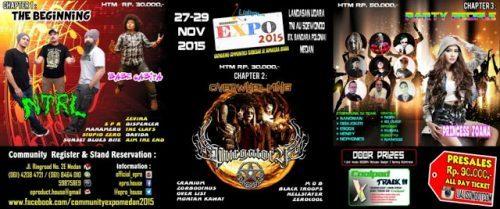 Community Expo 2015 - Medan