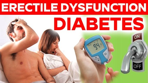 erectile dysfunction with diabetes