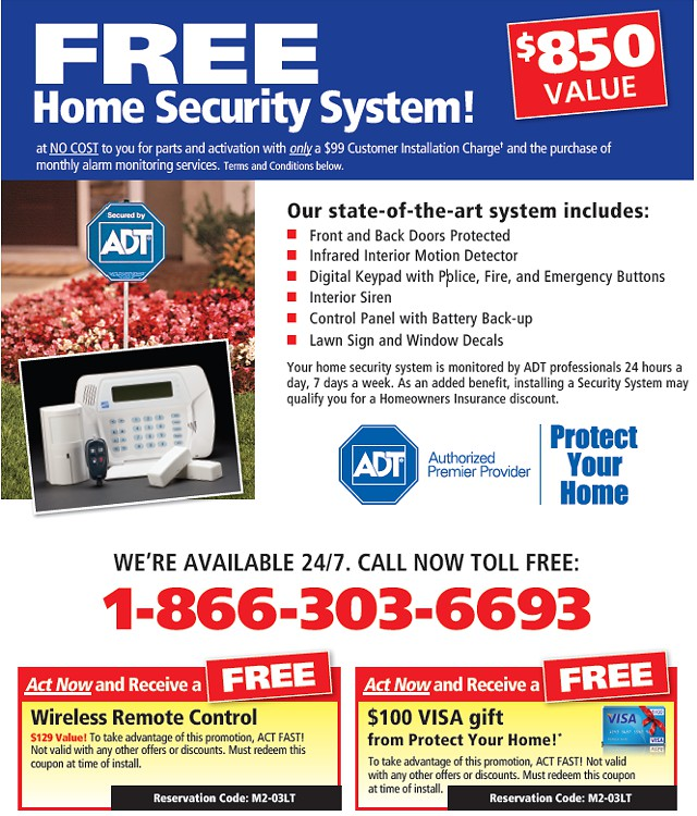 Free Home Security System