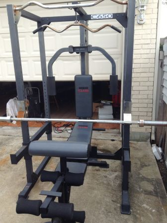 Weider C650 Home Gym Espotted