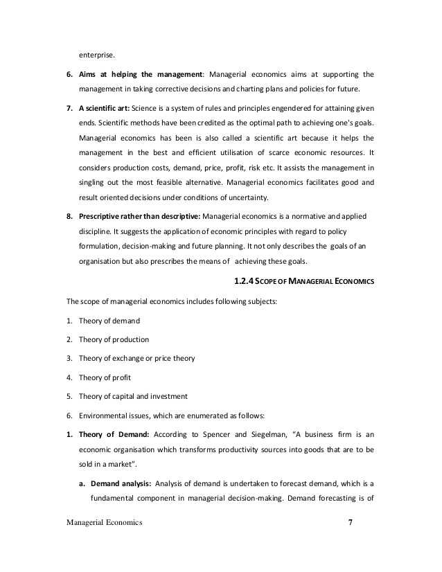 2.1 Economics Worksheet Answers Also Managerial Economics Text Book