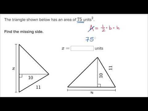 2 8b Angles Of Triangles Worksheet Answers with Triangle Missing Side Example Video