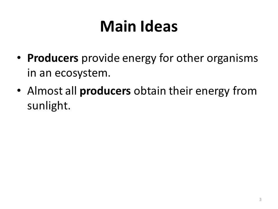 3.2 Energy Producers and Consumers Worksheet Answer Key and Energy In Ecosystems Chapter 13 Unit Objectives to Describe the