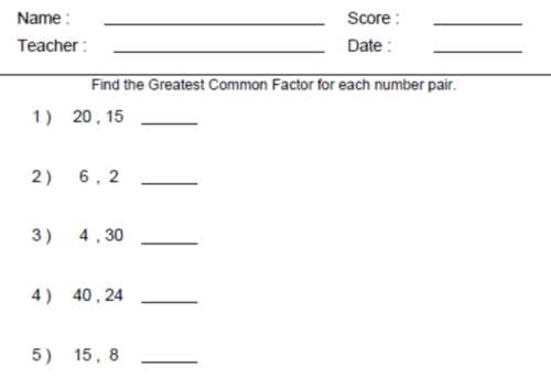 8th Grade Common Core Math Worksheets or Mon Core 7th Grade Math Worksheets Worksheets for All