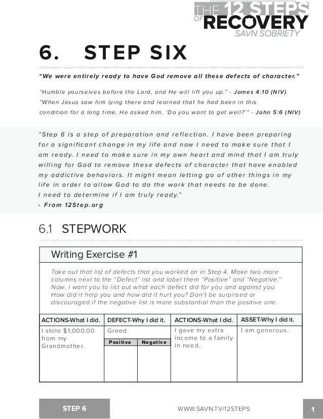 Aa 4th Step Worksheet Joe and Charlie with 4th Step Worksheet for Step Guide Fourth Inventory Big Book Study