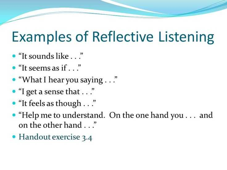 Active Listening Worksheets together with 8 Best Reflective Listening Images On Pinterest