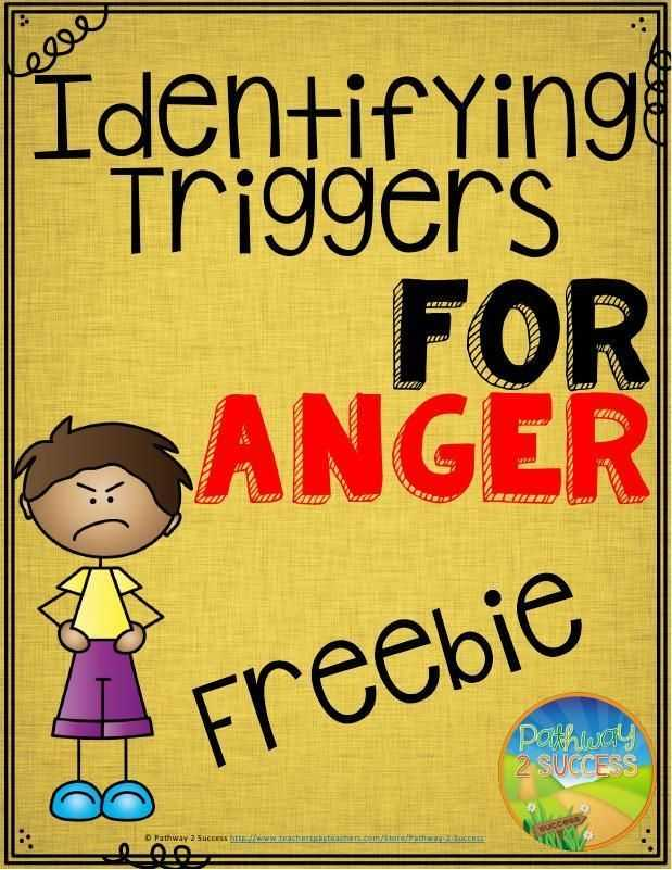 Anger Management Worksheets for Kids together with Free Worksheets to Help Identify Triggers for Anger Great Anger