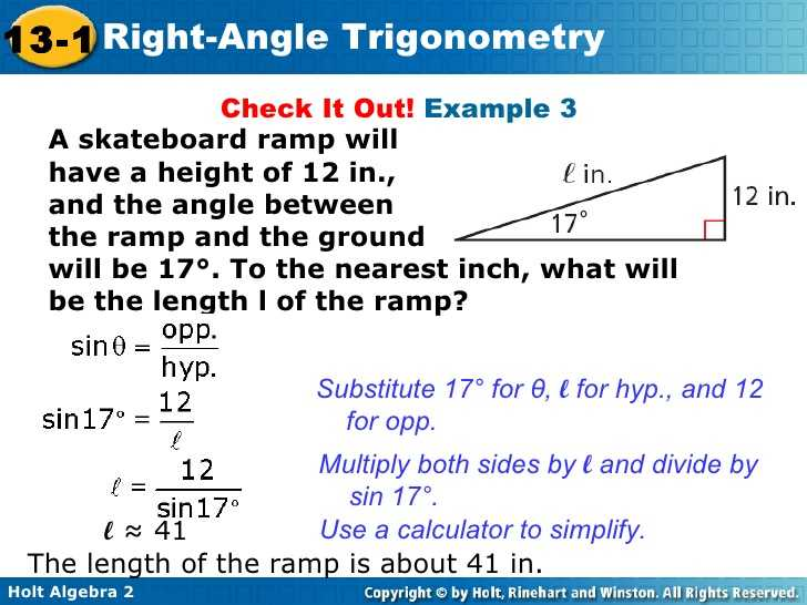 Angles Of Depression and Elevation Worksheet Answers Also Trig Right Triangle Trig