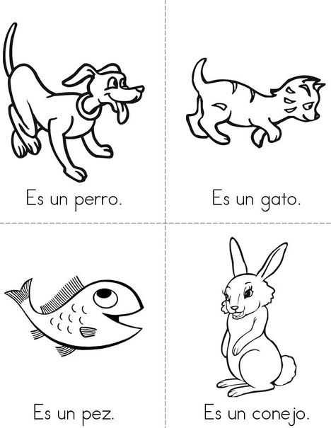 Animals In Spanish Worksheet as Well as Las Mascotas Pets Mini Book From Twistynoodle