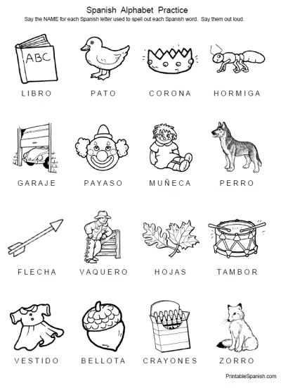 Animals In Spanish Worksheet or 187 Best Spanish Language Printables Images On Pinterest