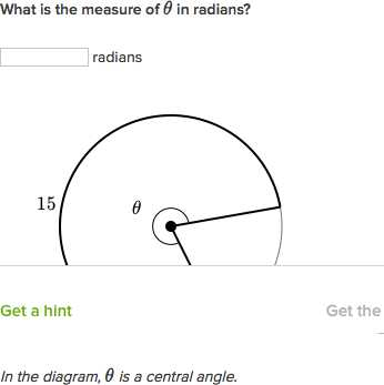 Arc Measure and Arc Length Worksheet with Arc Length From Subtended Angle Radians Video