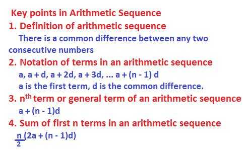 Arithmetic Sequence Worksheet 1 Along with Arithmetic Sequence