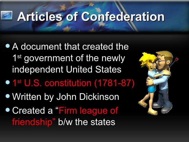 Articles Of Confederation Worksheet Middle School as Well as the Articles Confederation