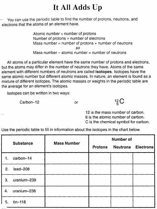 Atoms and Ions Worksheet Answer Key and atomic Mass Worksheet Chemistry Pinterest