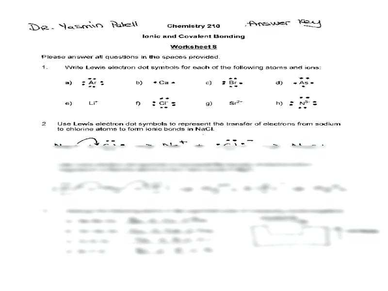 Atoms and Ions Worksheet as Well as Worksheets 42 Best Ionic Bonding Worksheet High Definition