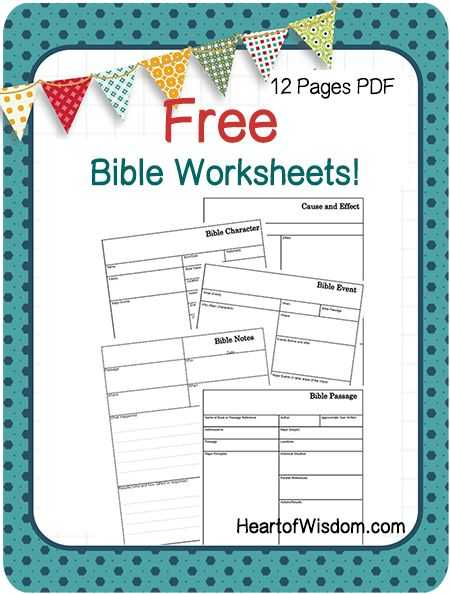 Bible Study Worksheets for Adults Pdf with 523 Best Bible Study Images On Pinterest